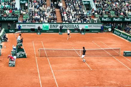Roland Garros 2016: K. Nishikori vs R. Gasquet
