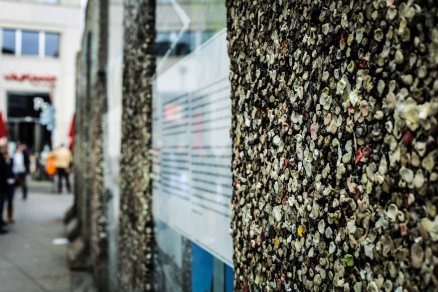 The Berlin Wall: the memories, the remains and some chewing gum in between