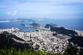 View on Rio from Christ the Redeemer