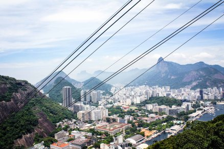 View on Rio from Christ the Sugar Loaf mountain