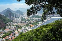 View on Rio from the Sugar Loaf mountain