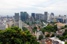 The view from Terra Brasilis Hostel