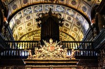 Gorgeous gold-laided churches