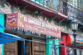 Caminito, La Boca barrio of Buenos Aires: every city in the world should have its own Rasputin!