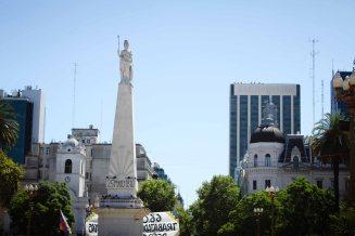 Pirámide de Mayo in Buenos Aires, Argentina